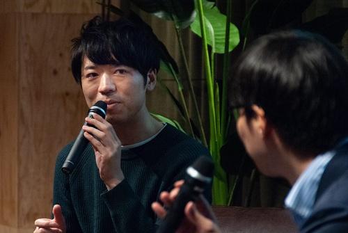 エンファクトリーの清水正樹取締役執行役員CDO(写真:ドリームムービー)