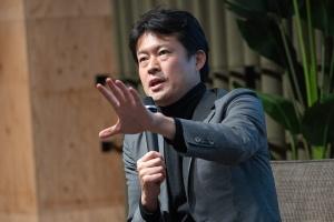 法政大学キャリアデザイン学部の田中研之輔教授(写真:ドリームムービー)