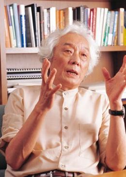 青木昌彦・米スタンフォード大学名誉教授(写真:中島 賢一)