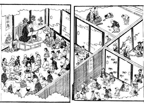 石田梅岩の弟子たちによって全国173カ所に開設された心学講舎は、明治以降急速に衰退していった(森田健司氏提供)