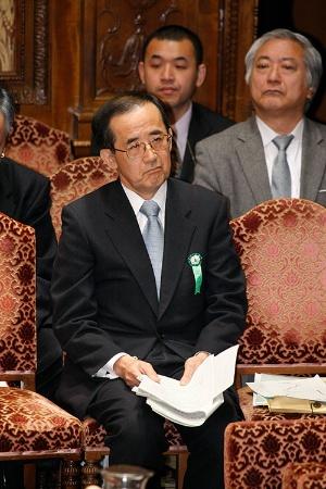 2010年2月16日、衆院予算委に出席する白川方明日銀前総裁 (写真:共同通信)