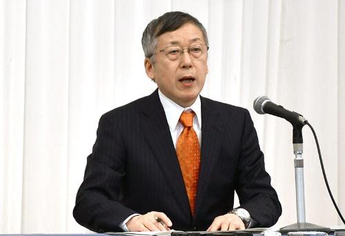金融緩和の副作用は小さいと話した日本銀行の原田泰審議委員(肩書きは2019年12月5日当時。写真:共同通信)