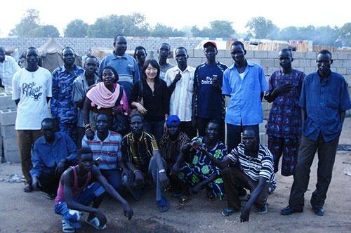南スーダン自警団と